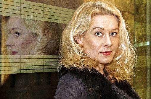 Natalie O'Hara  im Stuttgarter Kunstmuseum Foto: Lichtgut/Michael Latz, ZDF