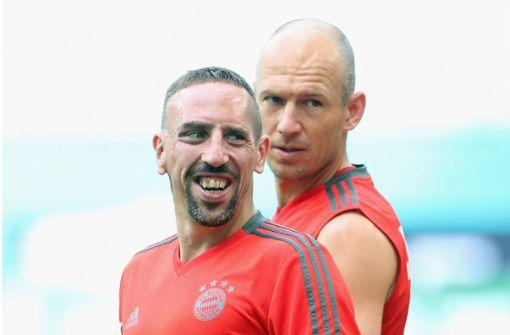 Robben und Ribéry wollen's nochmal wissen