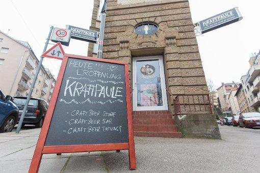 Der Kraftpaule liegt in der Nikolausstraße 2, unweit der Stadtbahnhaltestelle Stöckach. Foto: www.7aktuell.de | Frank Herlinger