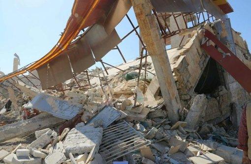 Das von Ärzte ohne Grenzen unterstützte Krankenhaus in Syrien, das bombardiert wurde,  stand in der Provinz Idlib – im Norden des Landes. Foto: Dpa