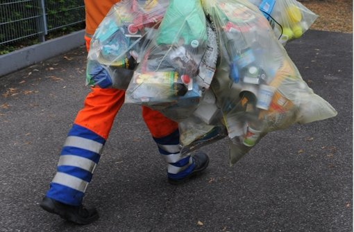 In Stuttgart fällt zu wenig Müll an. Foto: dpa