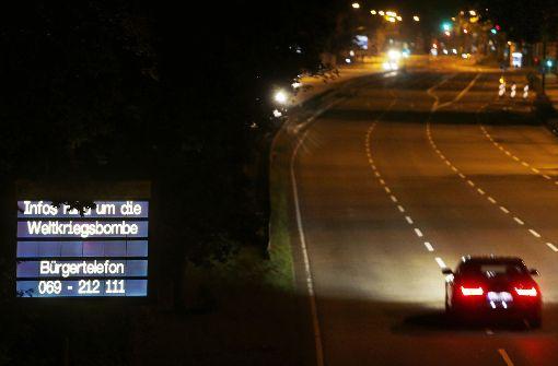 Autobahn gesperrt und Hotels evakuiert