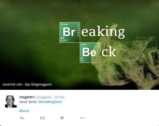Mit Memes wie diesen macht sich die Internetgemeinde über die Drogenvorwürfe gegen Volker Beck lustig. Foto: Screenshot SIR