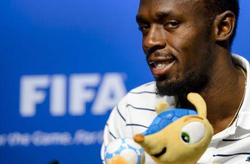 Usain Bolt kickt bei Benefizspiel