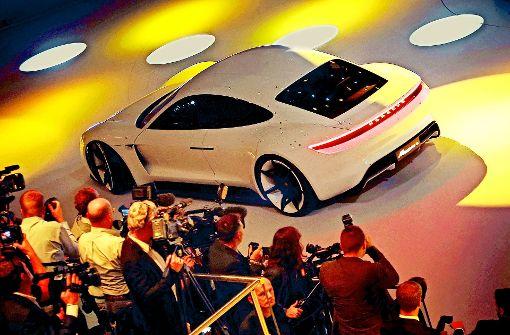 Porsche setzt auf Mission E