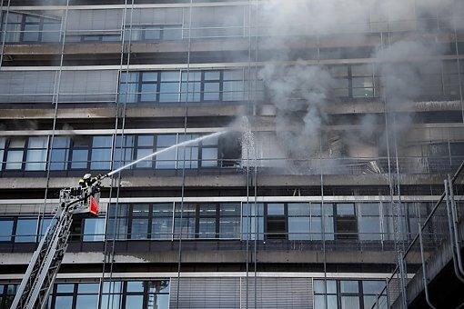 Defektes Elektrogerät löst Brand aus
