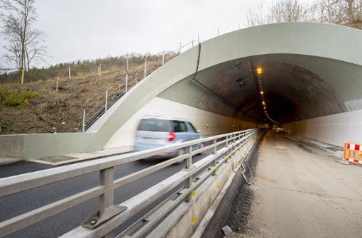 A81-Tunnel muss zeitweise gesperrt werden