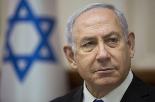Benjamin Netanjahu will Beweise vorliegen haben