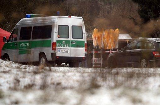 Polizei entdeckt Leiche auf Acker