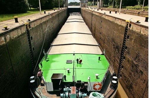 An Neckarschleusen müssen Matrosen nüchtern sein Foto: FACTUM-WEISE