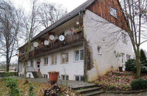 Die Obdachlosenheime auf der Gutenhalde Foto: Häusser