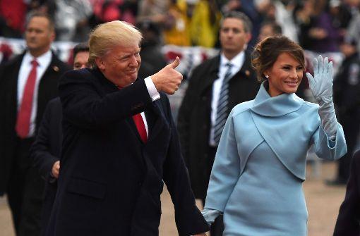 Melania Trump setzt auf klassische Eleganz