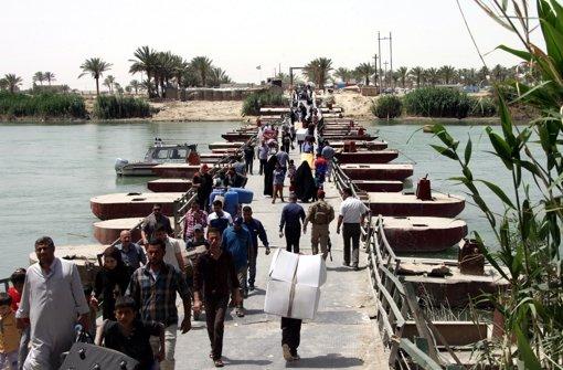 Milizen wolllen Ramadi zurückerobern