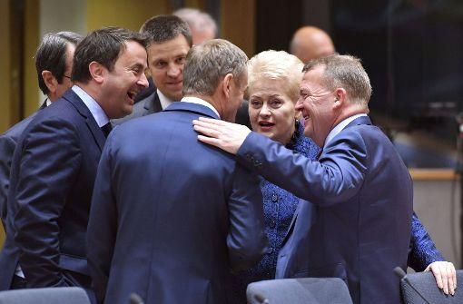 Tusk für zweite Amtszeit wiedergewählt