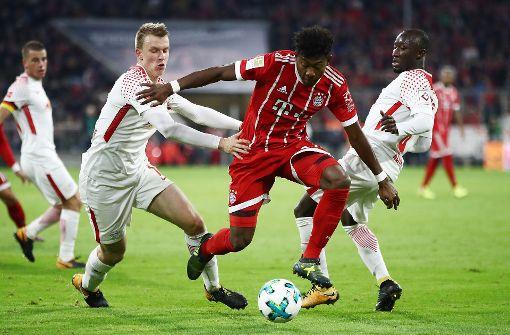 RB Leipzig kann den FC Bayern München nicht stoppen