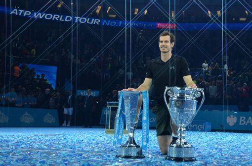 Murray schaffte es 2016, sich gegen Roger Federer, Novak Djokovic und Rafael Nadal durchzusetzen und Nummer eins der Weltrangliste zu erobern. Er ist der erste Mann aus Großbritannien, dem das im Einzel gelang.  Foto: AFP