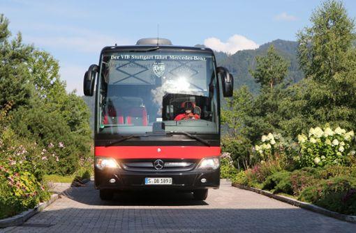 Für den VfB Stuttgart geht es nach einem intensiven Trainingslager wieder zurück nach Stuttgart. Foto: Pressefoto Baumann