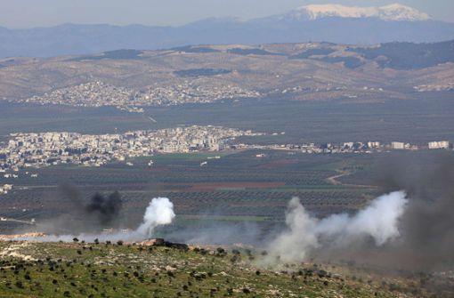 Türkische Truppen rücken gegen syrische Kräfte vor