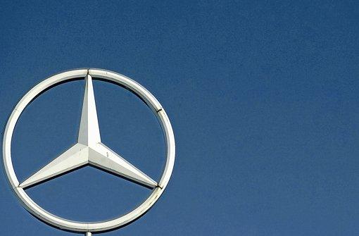 Zoff um Werkverträge unterm Daimler-Stern Foto: dpa