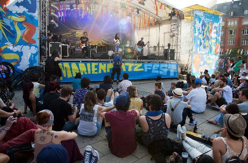 Das Marienplatzfest hat auch am Samstag wieder viele Menschen angelockt. Foto: Lichtgut - Oliver Willikonsky