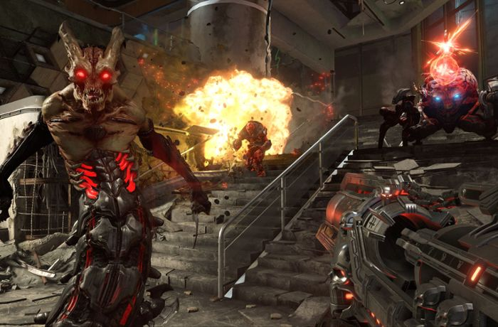 Doom Eternal: Neuauflage des Shooter-Klassikers verspricht brachiale Action