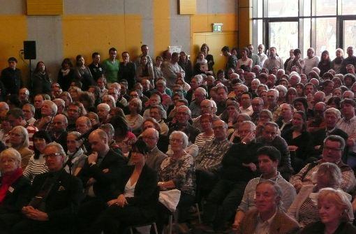 Großer Andrang im Bürgerforum