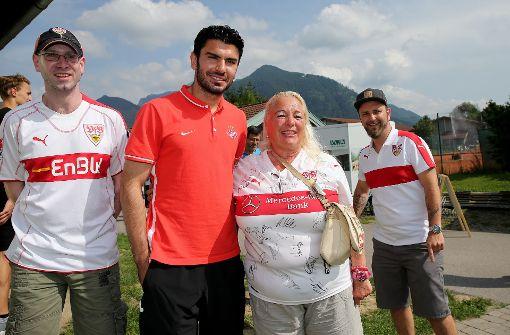 Serdar Tasci wurde 2007 mit dem VfB Stuttgart Deutscher Meister. Foto: Pressefoto Baumann