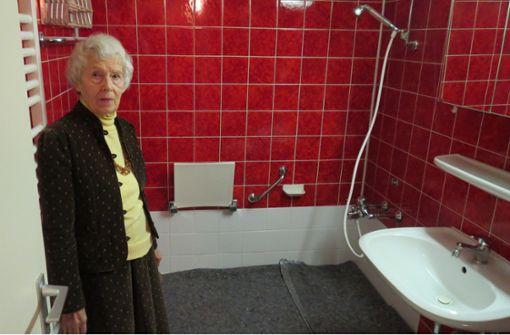 89-Jährige kann endlich wieder duschen