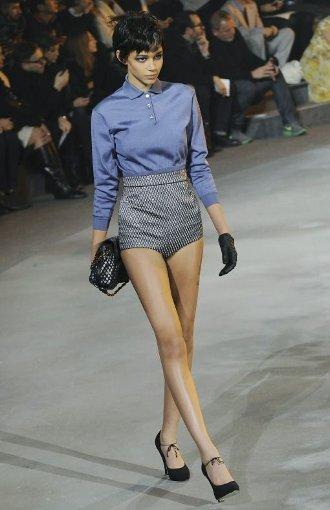 Hotpants auf dem Laufsteg bei Marc Jacobs. Foto: dpa