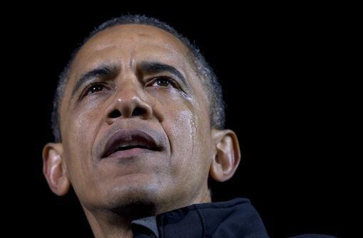 Amerika wählt, Obama weint