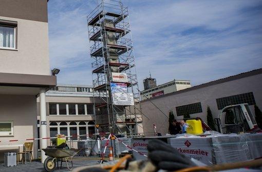 In Wangen steht Stuttgarts erstes Minarett Foto: Lichtgut/Max Kovalenko