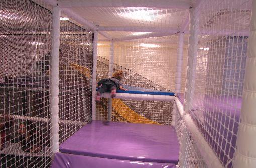 Die Netze sollen die Kinder schützen. Foto: Sägesser