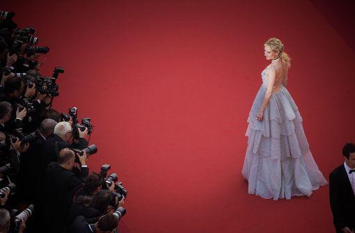 Viel Tüll zum Cannes-Geburtstag