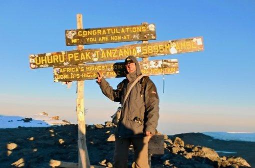 In Turnschuhen auf den Kilimandscharo