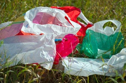 Mehr Plastiktüten ab April kostenpflichtig