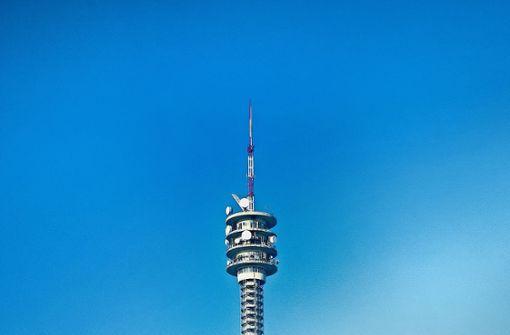 Der Funkturm in neuem Gewand