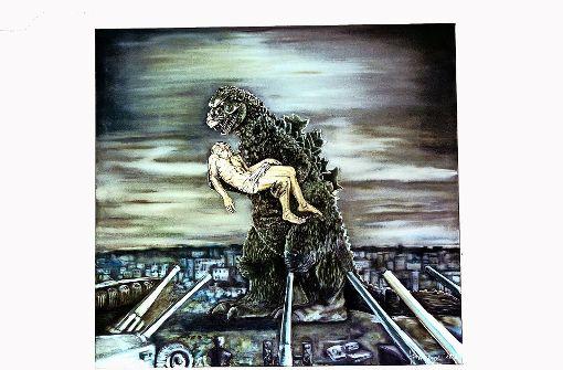 Esslinger Godzilla geht ins Kloster