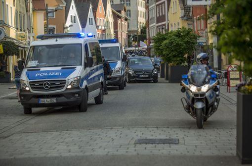Laut Polizei verlief die Demo friedlich. Foto: 7aktuell.de/Simon Adomat