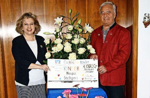 Floristmeister unterstützt Hospiz