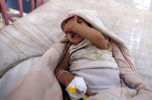 Mehr als eine halbe Million Cholera-Fälle
