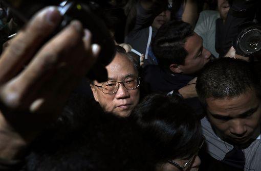 Donald Tsang zu 20 Monaten Haft verurteilt