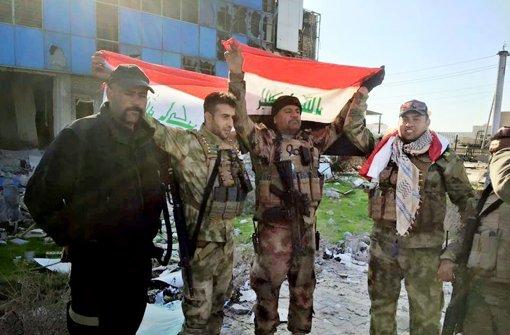 Irakische Armee verkündet Eroberung von Ramadi