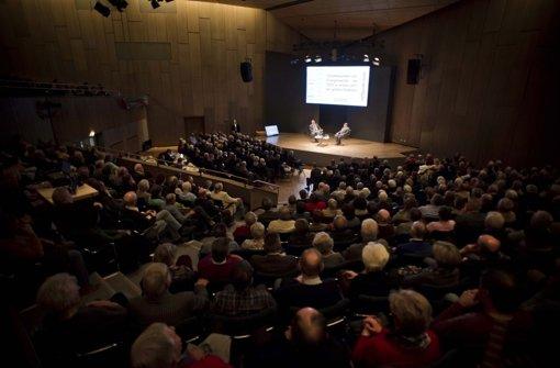 ... vor fast 750 Zuschauern in der Stuttgarter Liederhalle ... Foto: Lichtgut/Max Kovalenko