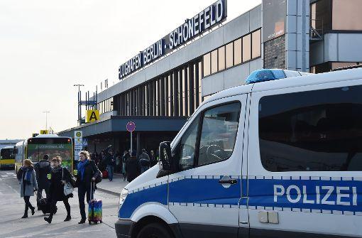 Flughafen-Terminal in Berlin geräumt