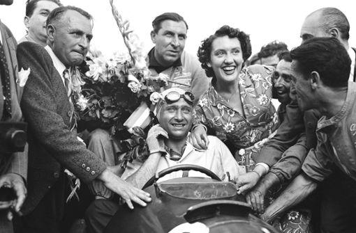 """""""Juan Manuel Fangio war wie der liebe Gott für mich"""""""