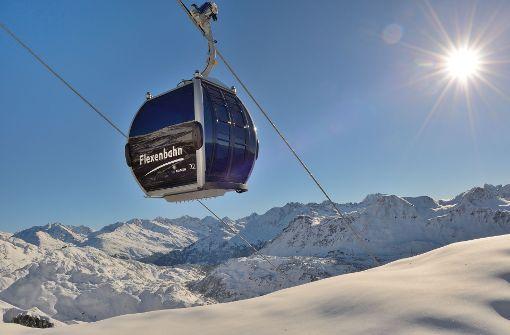 Die neue Flexenbahn macht's möglich: Ski Arlberg darf sich seit dem winter 2016/2017 Österreichs größtes zusammenhängendes Skigebiet  nennen.  Foto: Ski Arlberg