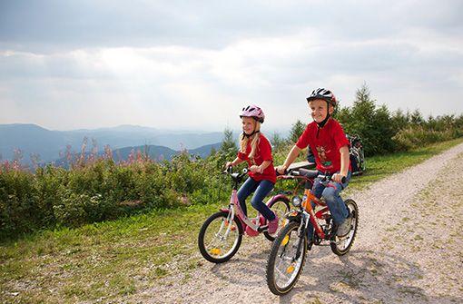 Rad-Touren mit den Kids bringen Spaß und wecken die Entdeckerlust.  Foto: Freudenstadt Tourismus