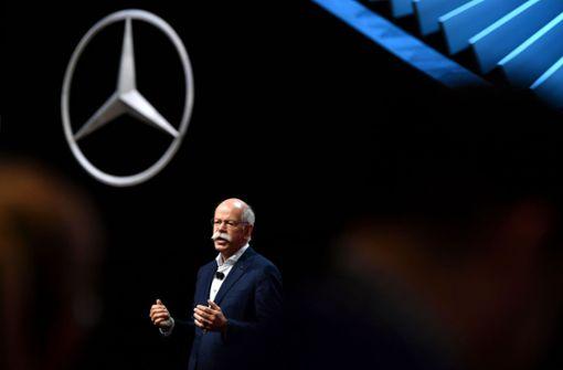 Zetsche warnt vor Bilanz-Auswirkungen der Elektroautos