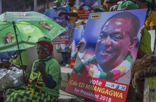 Erste Wahl seit Rücktritt Mugabes