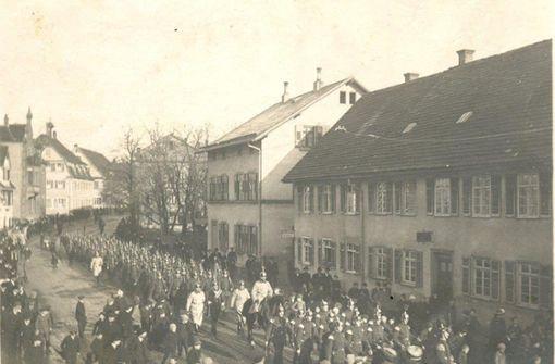 Im Dezember kehrten die Truppen zurück nach Zuffenhausen. Foto: Archiv: Winfried Schweikart